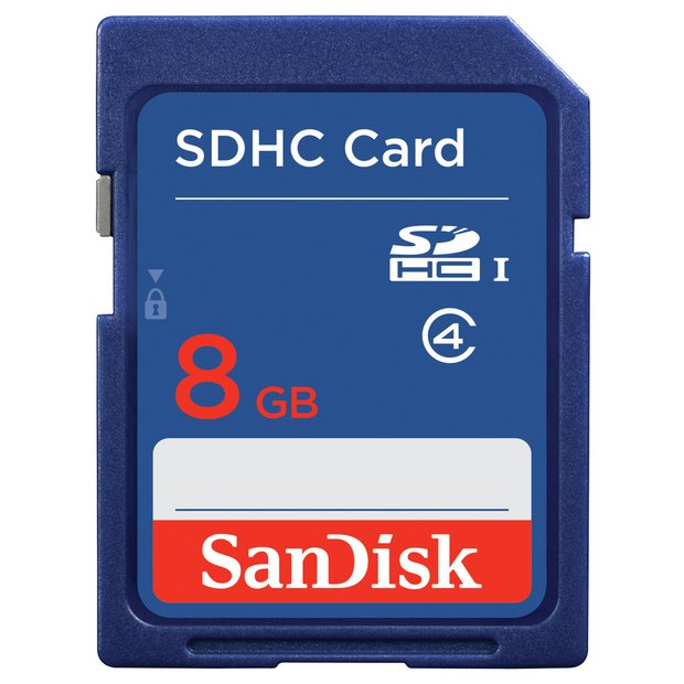 Online shop memory card