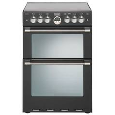 Stoves Sterling 600E 60cm Double Electric Cooker - Black
