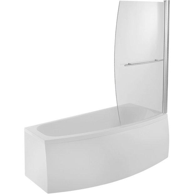 buy eliana minispace no tap hole bath front panel screen. Black Bedroom Furniture Sets. Home Design Ideas
