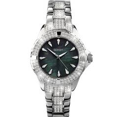Seksy Intense Ladies' Silver Coloured Bracelet Watch