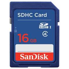 SanDisk Blue SD Memory Card