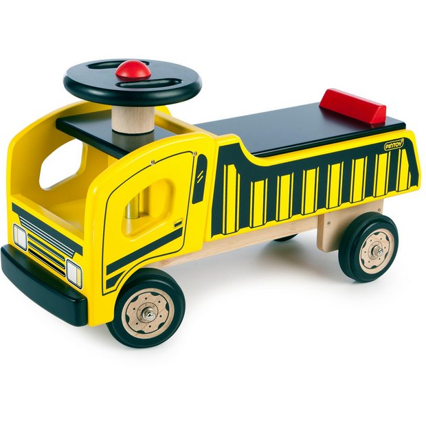 Outdoor Construction Toys : Buy pintoy ride on construction truck at argos