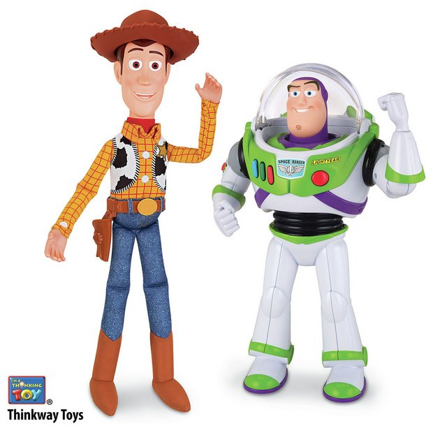 Toys And Co : Buy toy story woody and buzz talking figures at argos