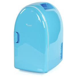 6 Litre Blue Mini Travel Fridge