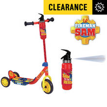 Fireman Sam Extinguisher Tri-Scooter - Multicoloured