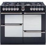 more details on Stoves Sterling R1000DFT Dual Fuel Range Cooker - Black