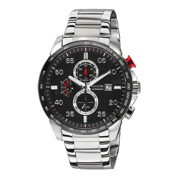 buy accurist men s watches at argos co uk your online shop for more details on accurist men s interchangeable strap chronograph watch