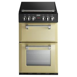 Stoves Richmond 550DFW 55cm Dual Fuel Cooker - Champagne