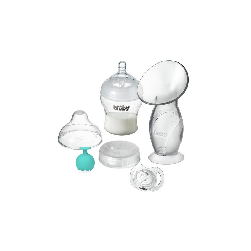 Nuby Silicone Single Manual Breast Pump from Argos