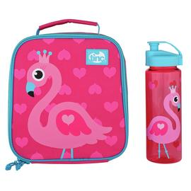 Tinc Flamingo Lunch Bag & Water Bottle