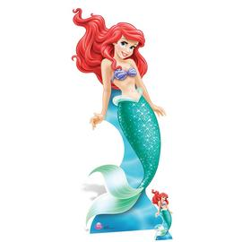 Star Cutouts Official Disney Ariel Cardboard Cutout