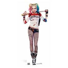 Star Cutouts DC Comics Harley Quinn Cardboard Cutout