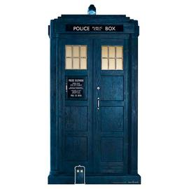 Star Cutouts Doctor Who 13th Tardis Cardboard Cutout
