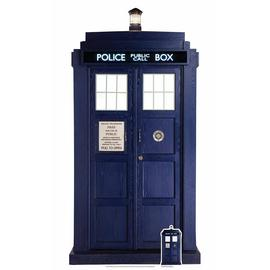 Star Cutouts Doctor Who The Tardis Cardboard Cutout