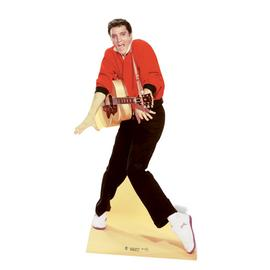 Star Cutouts Elvis Red Jacket Cardboard Cutout