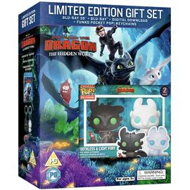 How to Train Your Dragon 3 3D Blu-Ray & Limited Edn Keyring
