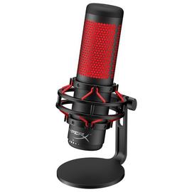 HyperX QuadCast Corded Gaming Microphone - Black