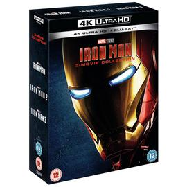 Iron Man Trilogy 4K UHD Blu-Ray Box Set