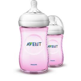 Philips Avent Natural Bottle 9oz 1month+ - 2 Pack
