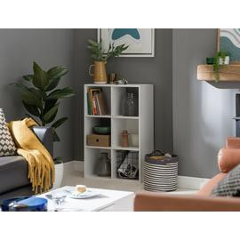 Argos Home Squares 6 Cube Storage Unit