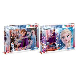 Disney Frozen 2 Special Effects 2 x 104 Piece Jigsaw Puzzle