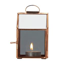 Argos Home Christmas Noir Small Metal House Tea Light Holder