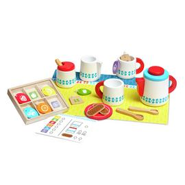 Melissa and Doug Wooden Tea Set