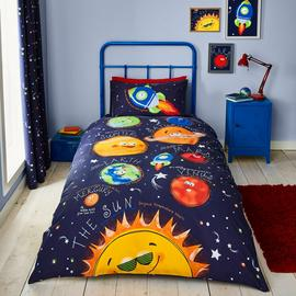 Catherine Lansfield Happy Space Bedding Set - Single