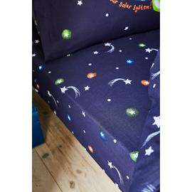 Catherine Lansfield Happy Space Fitted Sheet - Single