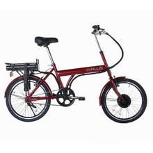 E-Plus Red Mantra 20 inch Wheel Size Unisex Electric Bike