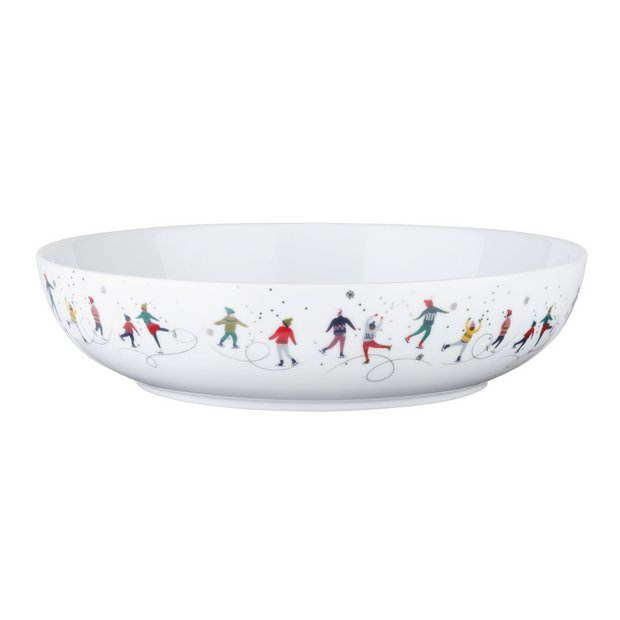 Christmas Bowls And Platters.Buy Argos Home Christmas Serving Bowl Berry Serving Bowls And Platters Argos
