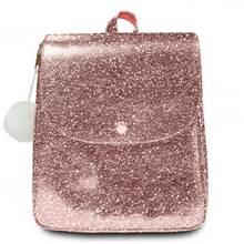 Spearmark Rose Gold Glitter Backpack