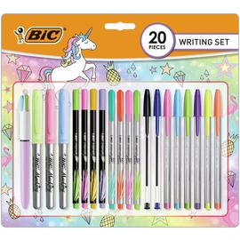 BIC Pastel Writing 20 Piece Set