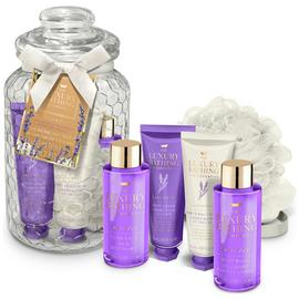 The Luxury Bathing Company Grace Cole Lavendar Bath Set