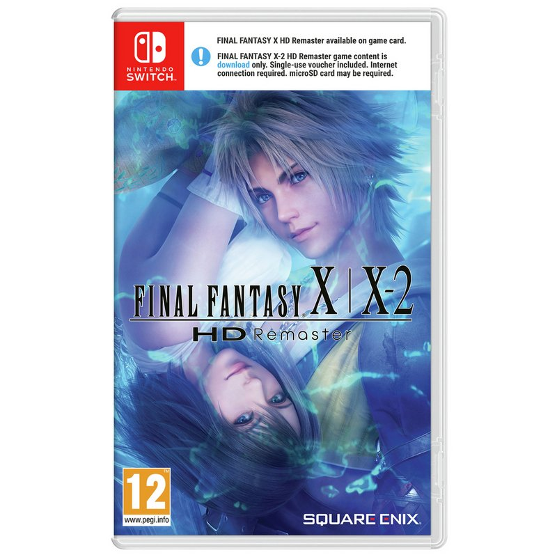 Final Fantasy X/X-2 HD Remastered Nintendo Switch Game from Argos