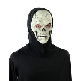 Argos Home Halloween Hooded Skeleton Mask