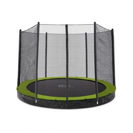 Plum Unisex's 27558 10ft Circular In Ground Trampoline with Enclosure, Black/Yellow, 10 foot Best Price and Cheapest