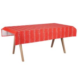 Argos Home Scandi Wipe Clean Table Cloth - Red