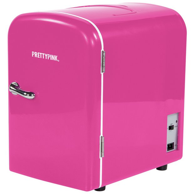 Buy 4 Litre Pink Beauty Fridge   Mini fridges   Argos