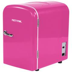4 Litre Pink Mini Travel Fridge