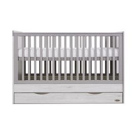 Obaby Madrid Cot Bed and Multi Top Changer - Lunar