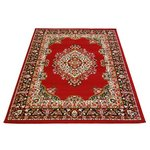 Maestro Traditional Rug - Red - 200 x 290cm