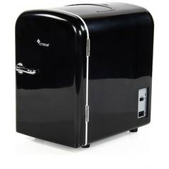 4 Litre Black Mini Travel Fridge