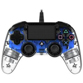 Nacon Official PS4 Wired Controller - Crystal Blue