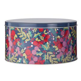 Argos Home Berry Christmas Cake Tin
