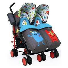 Cosatto Supa Dupa Monster Mob Pushchair - Multicoloured