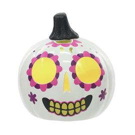 Halloween Day of the Dead Light Up Pumpkin Assortment
