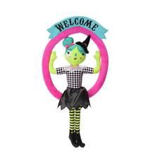 Argos Home Halloween Soft Toy Witch Wreath