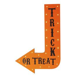 Argos Home Halloween Light Up Arrow Sign