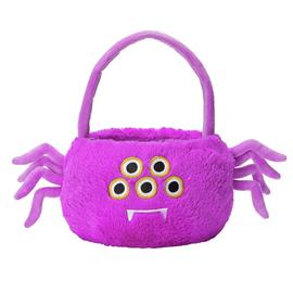 Argos Home Halloween Soft Toy Spider Bag